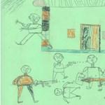 Mit mutatnak a polgárháborús poklot túlélt gyerekek rajzai?