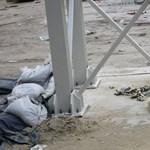 Eldőlt: megmarad a szinkronúszó medencék betonalapja a Városligeti tóban