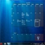 Látványos és működő naptár a Windows háttérképeként