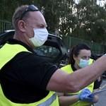 Több órás a sor a horvát-magyar határon