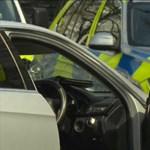 Szándékosan a londoni ukrán nagykövet autójába hajtottak, a rendőrök fegyvert használtak