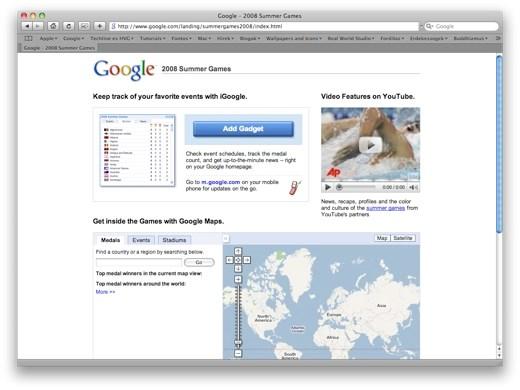 googleolimpics