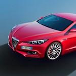Tűzpirosban az új Alfa Romeo