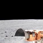 Lenyűgöző: 4K-s videón látni, hogyan kocsikáznak a NASA űrhajósai a Holdon