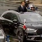 Különleges szolgálati autót kapott az új francia elnök