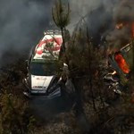 Kisebb erdőtüzet okozott egy kigyulladt versenyautó Portugáliában – videó