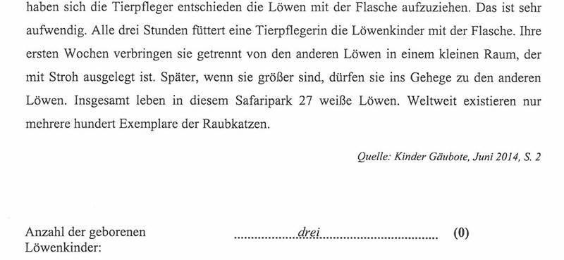 A középszintű németérettségi első feladatlapja: olvasott szövegértés