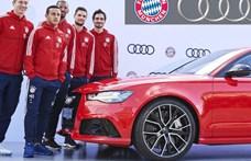 Mégsem ül át Audiból BMW-be a Bayern München