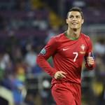 Ronaldo normálisan viselkedik a válogatottban
