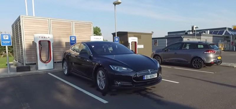 Új világrekordot ment a Tesla: 1078 km egyetlen feltöltéssel