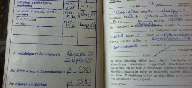 A Gyurcsány-szakdolgozat nyomában: jegyzőkönyv van a leselejtezésről
