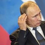 """""""Áhítatos emlékezés"""": Putyin ismét üzent Kim Dzsong Unnak"""