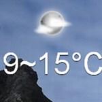Látványos, folyamatosan frissülő időjárás-jelentés, amelyet telepítenie sem kell