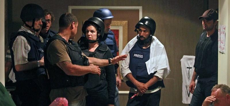 Kiszabadultak a külföldi újságírók Kadhafi szállodájából