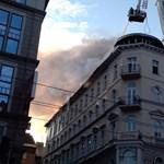 Gyurcsány irodája is megsemmisült a Teréz körúti tűzben