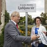 Tarlós új teret avatott Újbudán