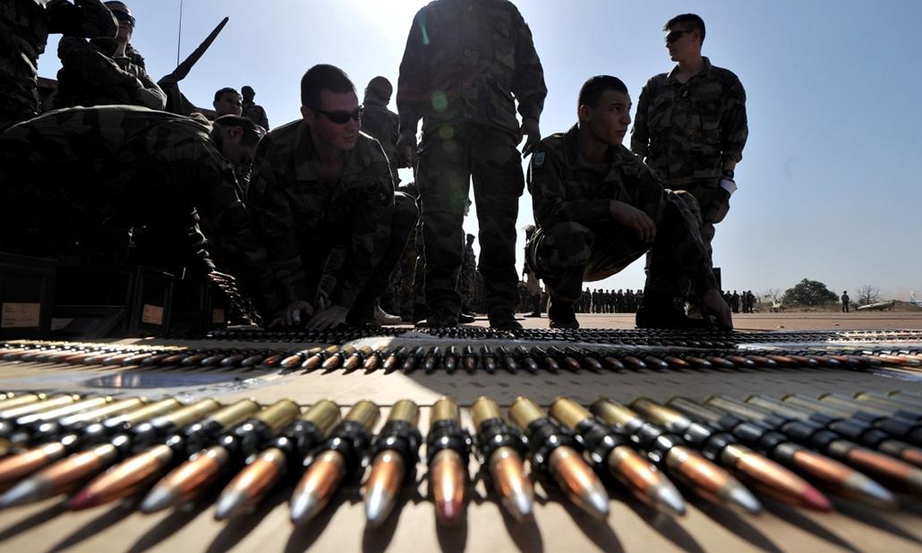 Malinagyítás afp, Mali, algéria, francia beavatkozás - francia katonák