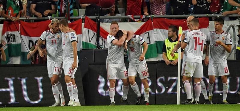 Nagy lépést tett az Eb felé a magyar válogatott