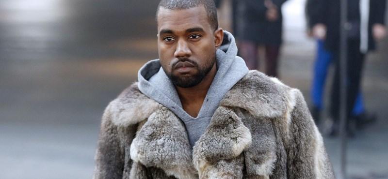 Új ruhakollekciót indít Kanye West