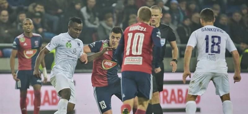 Mégsem lesz zárt kapus az Újpest–Ferencváros-bajnoki