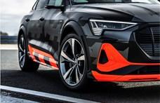 A közel 500 lóerő és 1000 Nm nyomaték a két legfontosabb adat az Audi sportosabb e-tronjában