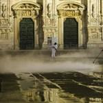 Olaszországban egy nap alatt 699 ember halt meg a járványban