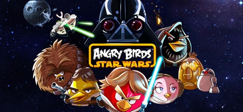 Megjelent az Angry Birds Star Wars