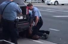 Tüntetések az USA-ban: Floridában kisteherautóval hajtottak a tömegbe