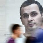 A börtönben hónapokig éhségsztrájkoló ukrán rendező kapta az Európai Parlament Szaharov-díját