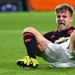 Kettős lábszártörést szenvedett a Manchester játékosa egy BL-meccsen – fotók