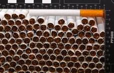 Cigarettacsempészekre csapott le a NAV, végül találtak 33 kiló füvet is