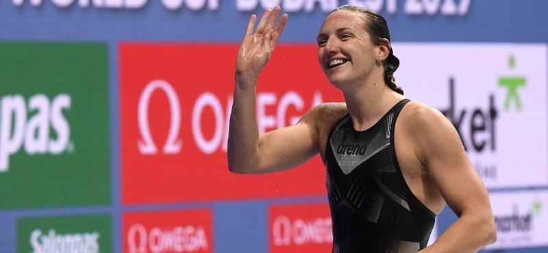 Négy magyar arany az úszó-világkupa zárónapján