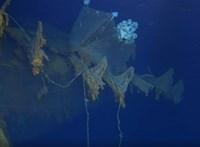 Romlik a Titanic állapota