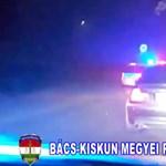 Videó: Üldözés végén fogták el az ittas sofőrt