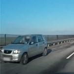 Nagy tempóval hajtott szemben a forgalommal egy autós Hatvannál