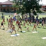 Tarlós utódja két fitness parkot avatott