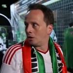 Egy focihoz nem értő humorista őrjöng szurkolóként - videó