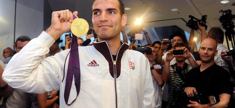 Szilágyi Áron vívó viszi majd a zászlót az olimpián