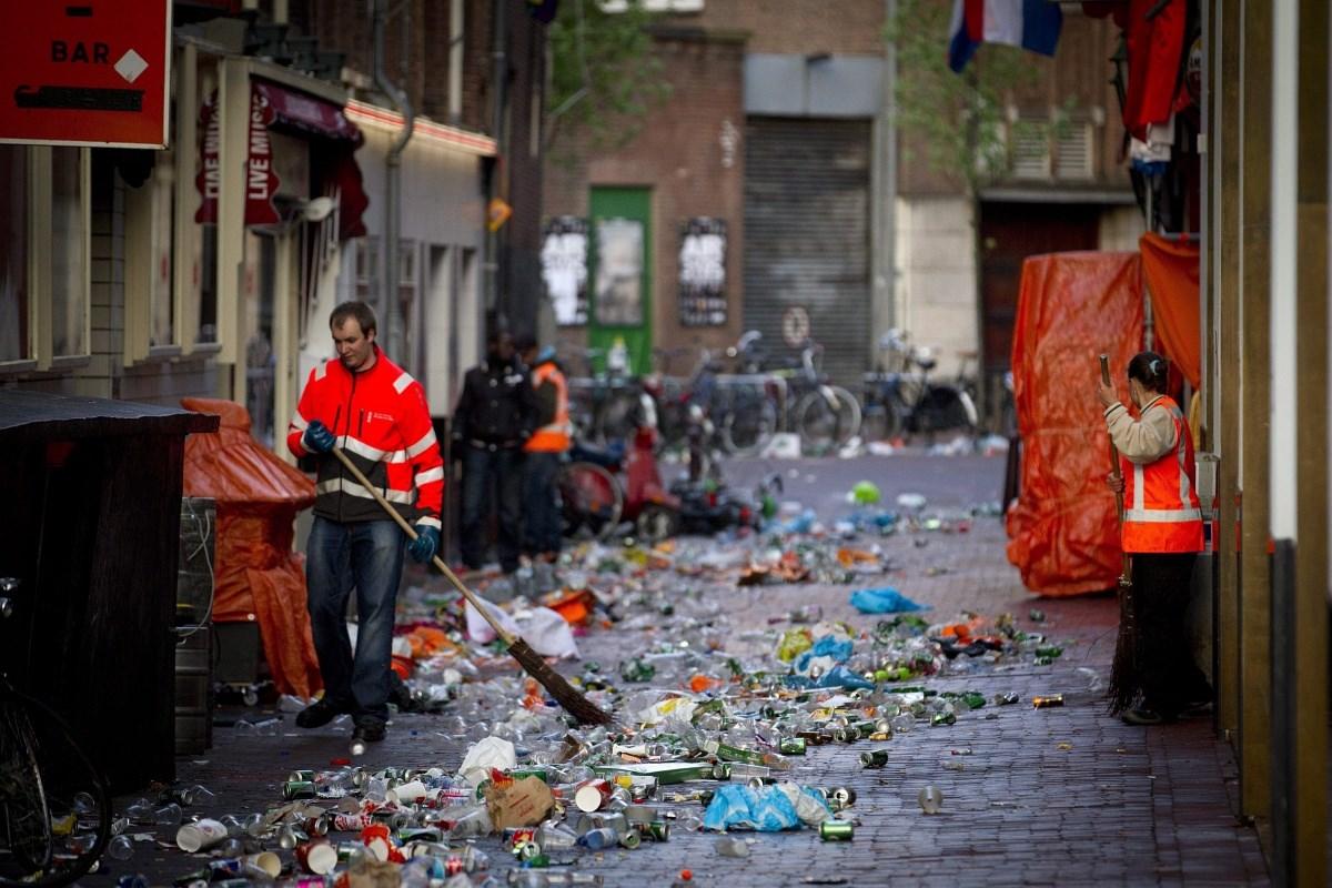 Fotó: Az uralkodóváltás másnapja Hollandiában