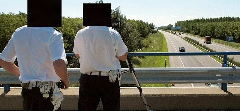 Vigyázzon, szeptembertől fokozottan ellenőrzik a gyorshajtókat az autópályákon