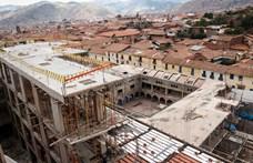 Lebontat a hatóság egy szállodát Peruban, mert inka romokra épült