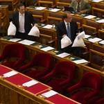 A bóvlikormánytól az adódömperig - percről percre a Parlamentből