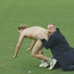 Meztelen férfiakkal provokálta Vlagyimir Putyint egy argentin sportcsatorna