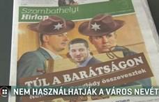 Nem használhatja Szombathely nevét az ingyenes hetilap