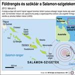 Halottjai vannak a Salamon-szigeteki gigaföldrengésnek