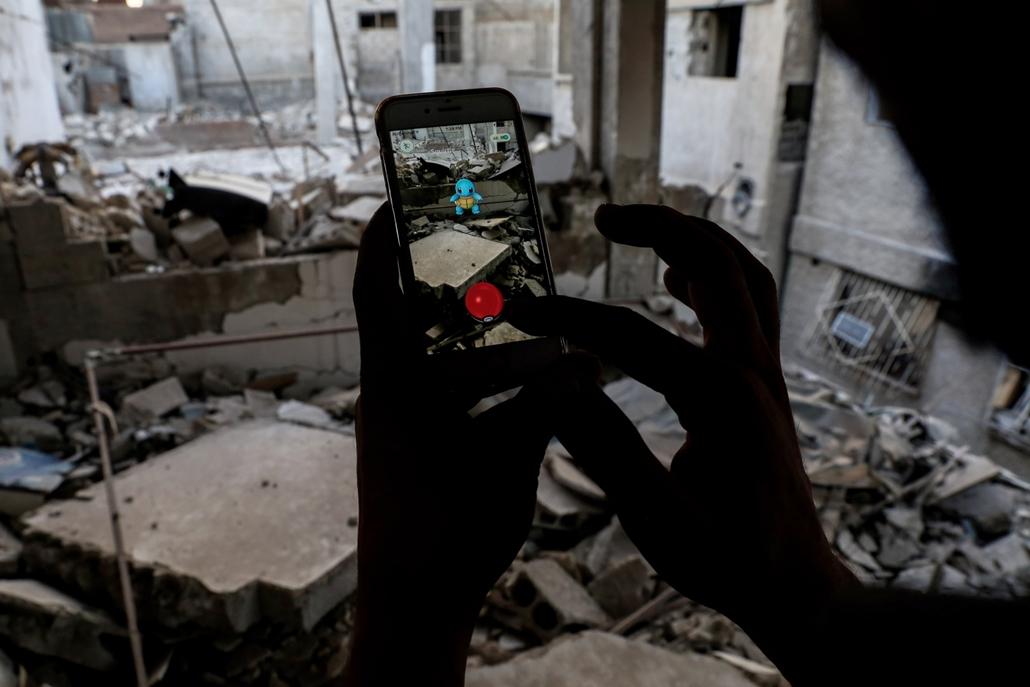 hét képei - Douma, Szíria