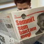 Schmitt Pál úgy emlékszik, megtarthatta kisdoktoriját
