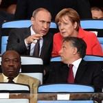 Miről beszélt Orbán Putyinnal a vb-döntő VIP-termében?