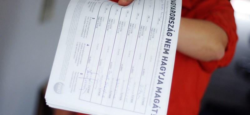 Átverték a 100 forintért rezsialáírásokért házaló önkénteseket