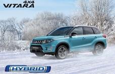 Új esztergomi hibrid: 7 millió forint felett startol a legjobban felszerelt új Suzuki Vitara
